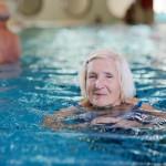 Eldery Swimming